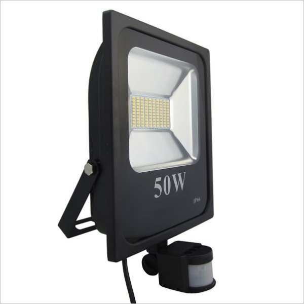 projecteur led 50w détecteur de mouvement