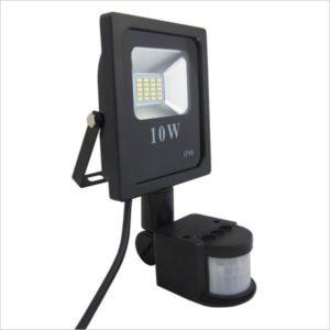 projecteur led 10w détecteur de mouvement